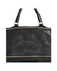 Givenchy - Black Calfskin Pandora Small Shoulder Bag - Lyst