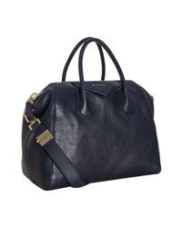 Givenchy | Blue Antigona Square Bag | Lyst