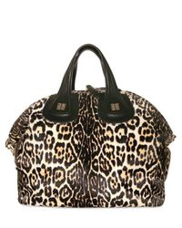 Givenchy - Brown Nightingale Pony Printed Medium Top Hand - Lyst