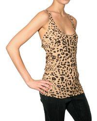 Givenchy - Multicolor Leopard Print Vest Top - Lyst