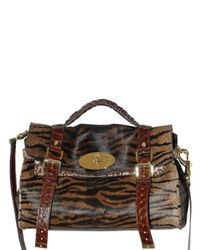 Mulberry - Brown Alexa Pony Top Handle - Lyst