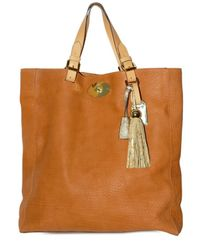 Mulberry | Brown Oversized Bayswater Grainy Calf Tote | Lyst