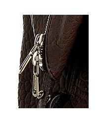 Saint Laurent | Brown Lambskin Leather Sac 57 Satchel | Lyst