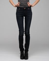 Acne Studios | Black Flex Wet Jean | Lyst