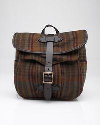 Filson - Green Hawthorne Wool Field Bag - Lyst