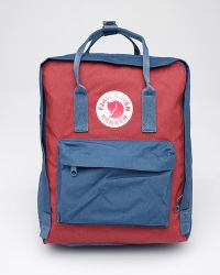 Fjallraven - Red 2 Tone Kanken Original - Lyst