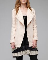 Free People - Natural Knit Wool Jacket - Lyst