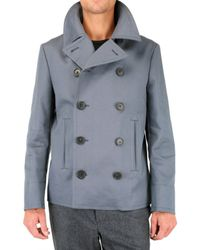 Black Fleece By Brooks Brothers | Gray Authentic Pea Coat for Men | Lyst