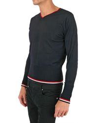 Black Fleece By Brooks Brothers - Blue Bottom Striped Sweater for Men - Lyst