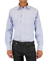 Black Fleece By Brooks Brothers - Blue Tab Collar Oxford Shirt for Men - Lyst