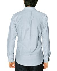 Brooks Brothers | Blue Double Pocket Oxford Shirt for Men | Lyst