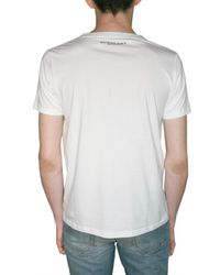 Burberry Prorsum - White Cow Print Jersey T-shirt for Men - Lyst