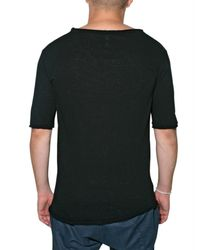 Comeforbreakfast | Black Spiders Printed Jersey T-shirt for Men | Lyst