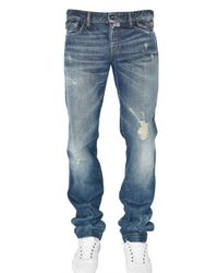 Dolce & Gabbana | Blue Audacious Distressed Denim Jeans for Men | Lyst