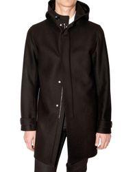 Dior Homme | Black Broadcloth Coat for Men | Lyst