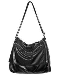 Dior Homme   Black Lambskin Large Messanger Shoulder Bag for Men   Lyst