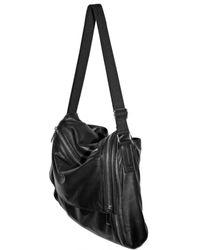 Dior Homme - Black Lambskin Large Messanger Shoulder Bag for Men - Lyst