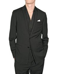 Dior Homme | Black Light Weight Wool Jacket for Men | Lyst