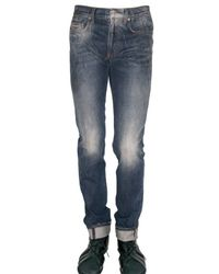 Dior Homme - 17,5cm Powder Blue Sprayed Jeans for Men - Lyst