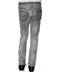 Dior Homme - Gray 19 Cm Stripe Dirty Straight Jeans for Men - Lyst