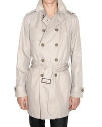 Dior Homme | Natural Light Cotton Canvas Coat for Men | Lyst