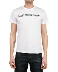 Dior Homme | White Sweet Talkin Boy T-shirt for Men | Lyst