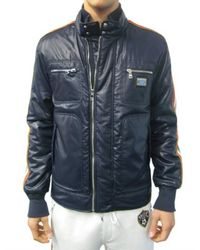 Dolce & Gabbana | Blue Italian Flag and Plaque Sport Jacket for Men | Lyst