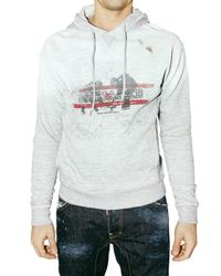DSquared² | White Destroyed Fleece M. Fuckers Sweatshirt for Men | Lyst