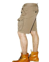 DSquared² | Brown Light Twill Military Bermuda Shorts for Men | Lyst