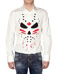 DSquared² | White Manga Print Shirt for Men | Lyst