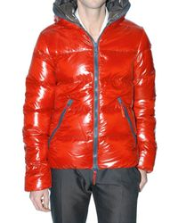 Duvetica - Red Shiny Nylon Dionisio Sport Jacket for Men - Lyst