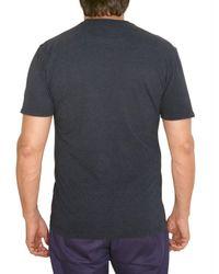 Hydrogen - Blue Sequined Skull Jersey T-shirt for Men - Lyst