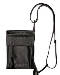 Kris Van Assche - Black Calf Shoulder Bag for Men - Lyst