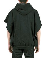 Pleasure Principle - Black Fleece Kimono Sleeve Hoodie Sweatshirt for Men - Lyst