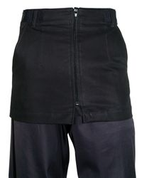Raf Simons | Blue Light Cotton Gabardine Skirt for Men | Lyst