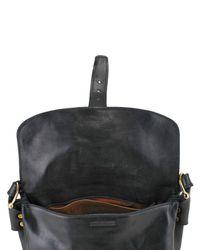 Saddlers Union - Black Small Messenger Cow Leather Shoulder Bag for Men - Lyst