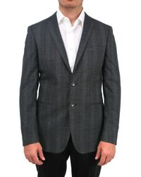 Tonello | Gray Prince Of Wales Two Button Jacket for Men | Lyst
