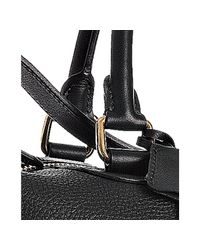 Céline - Black Pebble Leather Small Boston Bag - Lyst