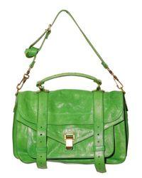 Proenza Schouler - Green Ps1 Medium Lux Lamb Shoulder Bag - Lyst