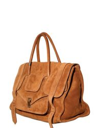 Proenza Schouler - Brown Ps1 Keep All Small Suede Top Handle - Lyst