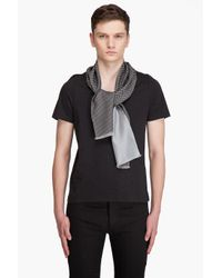 Alexander McQueen | Gray Scarf Combo T-shirt for Men | Lyst