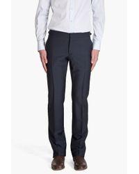 Alexander McQueen - Blue Navy Suit Pants for Men - Lyst