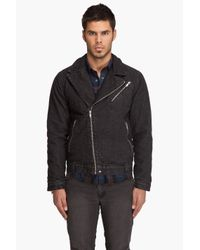 Cheap Monday | Black Joe Biker Jacket for Men | Lyst