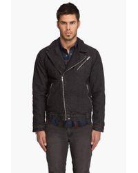 Cheap Monday - Black Joe Biker Jacket for Men - Lyst