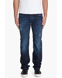DIESEL | Blue Safado 8j1 Jeans for Men | Lyst