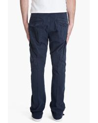DIESEL - Blue Sislargo Pants for Men - Lyst