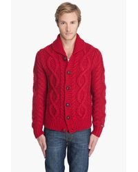 DIESEL | Red K-gage Sweater for Men | Lyst