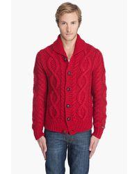 DIESEL - Red K-gage Sweater for Men - Lyst