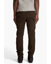Filippa K - Brown Samuel Heavy Cotton Chinos for Men - Lyst