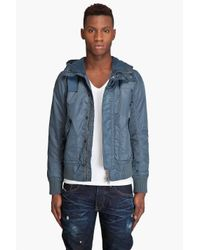 G-Star RAW | Blue Mfd Bomber Jacket for Men | Lyst